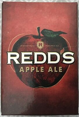 """ON SALE!COLLECTIBLE! NEW+CHEAP:Redd's Apple Ale """"What's Your Pick"""" Playing Cards"""