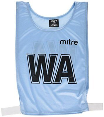 Mitre Netball Pro Training Bib - Sky, Medium