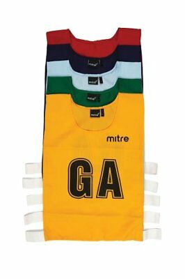 Mitre Netball Pro Sports Training Bibs - Large, Navy