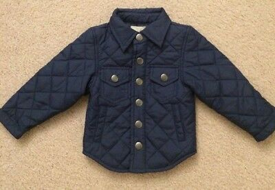 Peek Little Peanut Baby Boy Homestead Quilted Shirt/Jacket - Size Small (3-6mos)