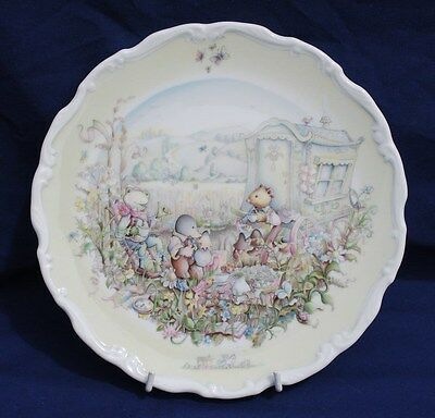 "ROYAL DOULTON - WIND IN THE WILOWS - ""THE OPEN ROAD"" Collector Plate.Exc.Cond."