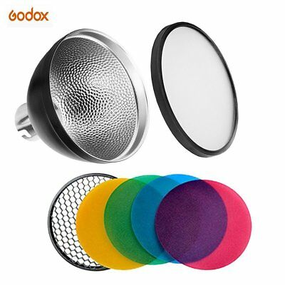 Godox AD-S2 Standard Reflector With AD-S11 Color Filter for AD200 Kit