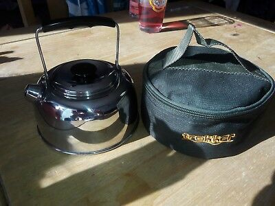 Camping Kettle Chub Carp Fishing NRG Jumbo Kettle