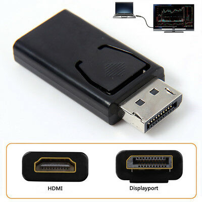 Display Port DP Male To HDMI Female Adapter Adaptor Converter For 1080P HDTV PC