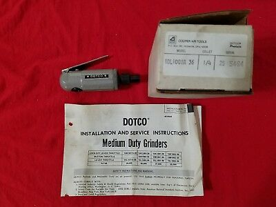 NEW dotco 10L10 series inline die grinder aircraft tool & tool and die 37000 rpm