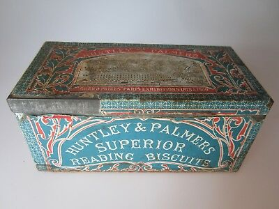 Alte Blechdose- Huntley & Palmer's - Superior Reading Biscuits
