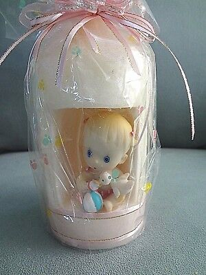 """DECORATIVE CANDLE  THE PERFECT GIFT for  """"BABY GIRL NURSERY ROOM"""" ACCENT"""
