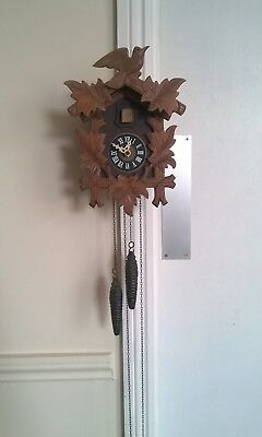 Vintage Edwin Jager 7623 Cuckoo Clock  Germany