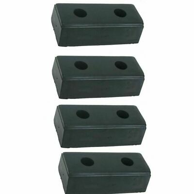 "LOADING DOCK BUMPER 10""Hx4-1/2""Wx3""D (pkg. of 4) Truck Wall Protection Rubber"