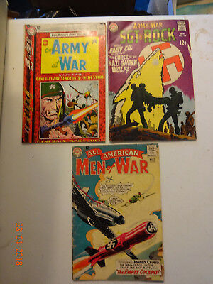 Our Army At War #148,199, All American Men Of War #99