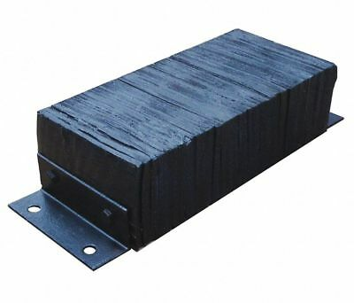 "LOADING DOCK BUMPER 10""H x 26""W x 6""D Truck Trailer Wall Protection Rubber"