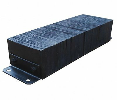 "LOADING DOCK BUMPER 10""H x 32""W x 6""D Truck Trailer Wall Protection Rubber"