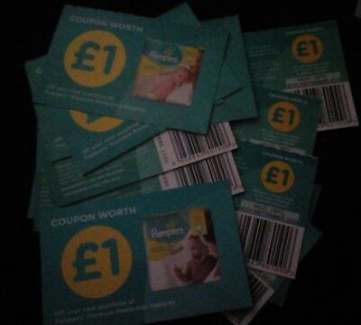 pampers coupons £18 value