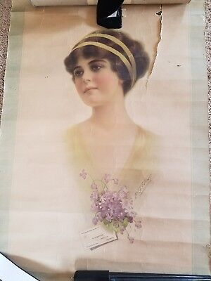 Antique ADVERTISING POSTER B. Lichtman Shoe Store in Tennessee