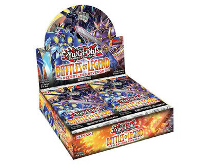 Yu-Gi-Oh Battles of Legend Relentless Revenge Booster Box PRE-ORDER