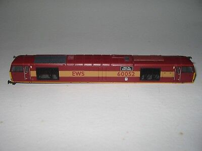 N Gauge Graham Farish Class 60 60052 'Glofa Twr' Body EWS Livery - SPARES/REPAIR