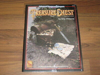 AD&D 2nd Edition Treasure Chest Offical Game Accessory TSR 1994 New Sealed Mint