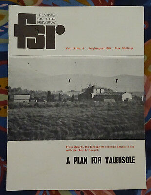 FLYING SAUCER REVIEW MAGAZINE Vol 15 No.4 1969 The Mysterious Caconde Case FSR