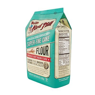 Bob's Red Mill Super-Fine Cake Flour - 48 oz - Case of 4