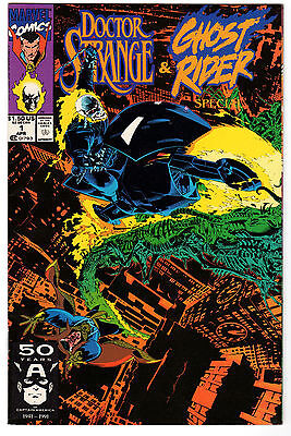 Doctor Strange & Ghost Rider Special #1 - Marvel Comics Apr 1991 - F/VF
