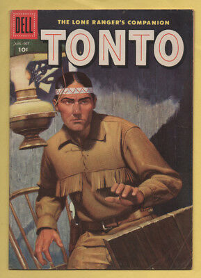 The Lone Ranger's Companion Tonto #24 August-October 1956, Dell, 1951 Series GD