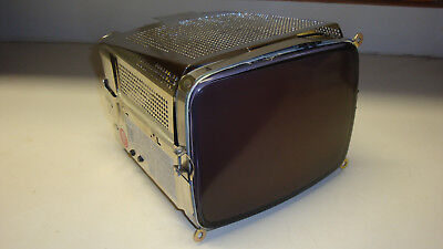 Zenith 9 Inch CRT 12 Volt Amber Monitor, New Old Stock, Dated 1984 Still Wrapped