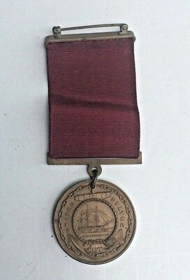1937 United States  U.S. NAVY Good Conduct Medal Fidelity Zeal Obedience Marked