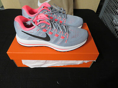 23dc552e969c Nike Air Zoom Vomero 12 Womens 863766-002 Grey Hot Pink Running Shoes MANY  SIZES