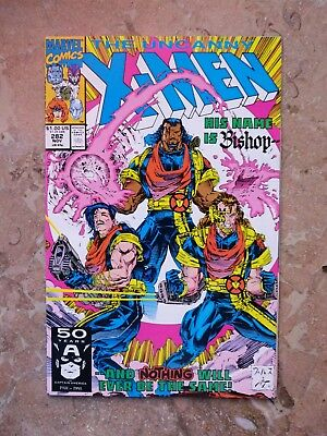 The Uncanny X-Men #282 (Nov 1991, Marvel) 1st First appearance Bishop