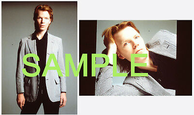 Jim Carroll - two (2) 35mm slides promo photos - The Basketball Diaries - punk