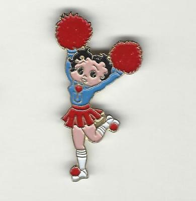 BETTY BOOP  Cheerleader Hat / Lapel Pin