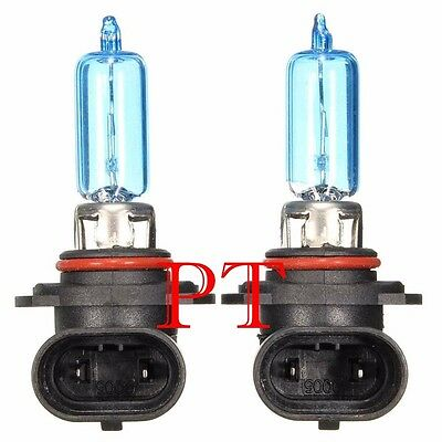 9005 HB3 12V 55W Halogen Headlight Light Bulbs 5000K Super White #y4 High Beam