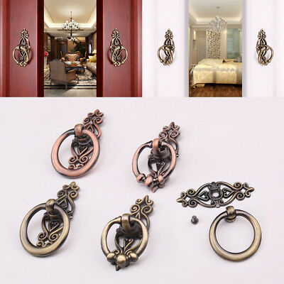 Vintage Antique Drawer Pull Handle Knobs Kitchen Door Cabinet Hardware Furniture