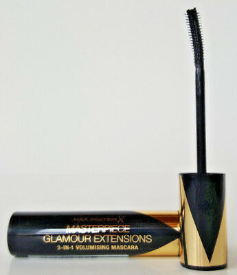 Max Factor Masterpiece Glamour Extensions 3 in 1 Mascara Black NEU & OVP