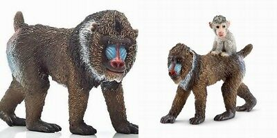 Schleich Safari wildlife Africa Male Mandrill toy figure new 14715 Free Shipping