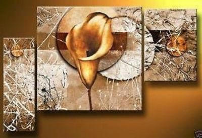 ZWPT305 3pcs modern abstract hand-painted wall decor art oil painting on canvas