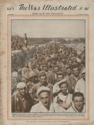THE WAR ILLUSTRATED No. 161 (20 August 1943) 8th ARMY AND CANADIANS IN SICILY -
