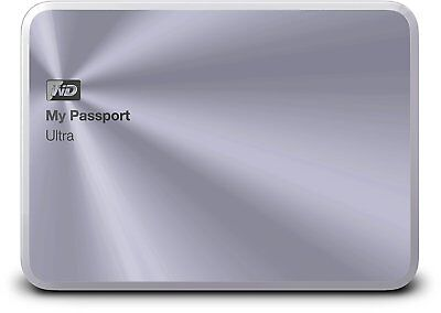 "WD My Passport Ultra Metal Edition 2TB USB3.0 2,5"" Externe Festplatte,OVP,silver"