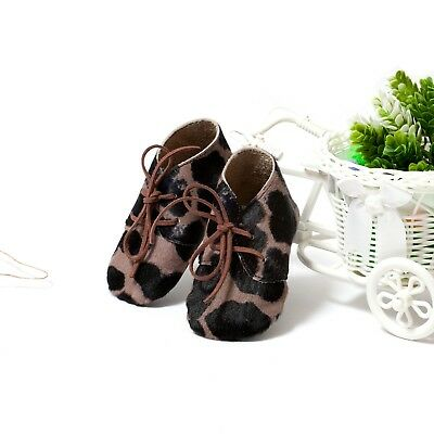 Baby Cavallino Leather Shoes, Soft Sole Booties, Kind's moccs, Baby Slippers