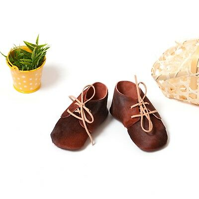 Baby Soft Sole Leather Booties, Kind's Moccasins, Crib Shoes Cavallino Slippers