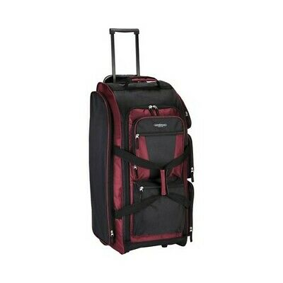 """Travelers Club Unisex  30"""" Xpedition Rolling Upright Multi-Pocket Duffel"""