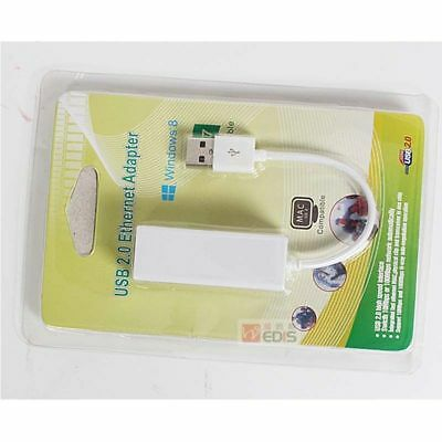 retial box USB2.0 to fast Ethernet 100m RJ45 Network LAN Adapter Card Dongle