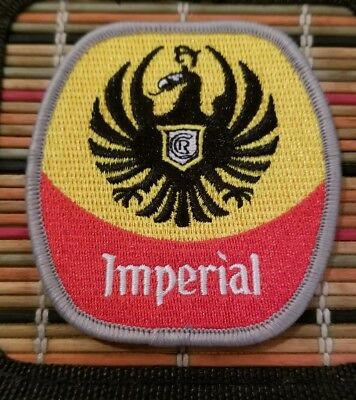 Rare original Costa Rica IMPERIAL BEER 3.5 inch Jacket hat shirt patch