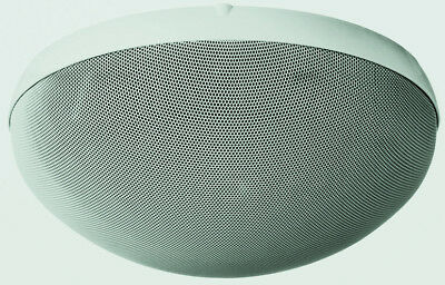 TOA H-2 Speaker, 2-Way, Dome-Shaped, Wall/Ceiling-Mount
