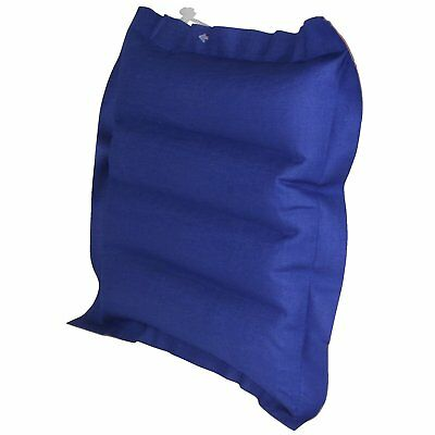 10T Ruby Box - Travel air cushion, inflatable, cotton, rubberised, blue/red, cm
