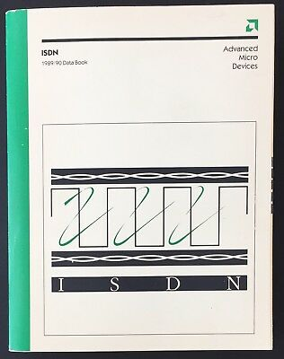 Advanced Micro Devices (AMD) - ISDN 1989/90 Data Book (1989)
