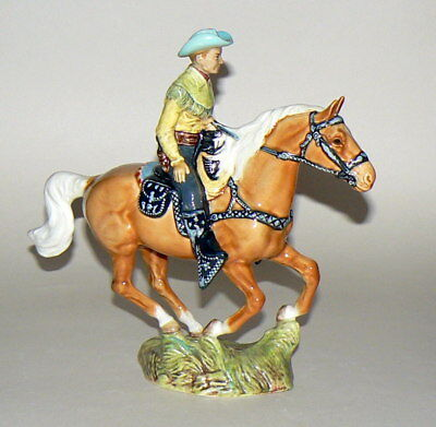 Superb Early Rare Beswick Canadian Mounted Cowboy 1377