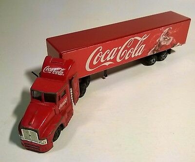 Old Coca - Cola Coke Advertising Christmas Holiday Truck Trailer