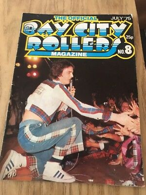 Bay City Rollers Official Magazine Issue 8
