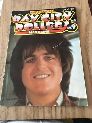 Bay City Rollers Official Magazine Issue No 9